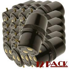 B22 Socket Extension Plug 5Amp 240V (12 Pack)