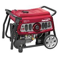 Powermate 6958 - DF7500E Electric Start Dual Fuel Portable Generator, 49 ST/CSA