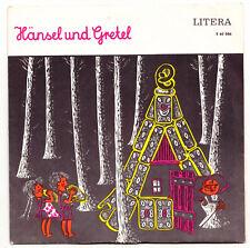 Vinyl Single Litera 560086 Hänsel & Gretel Märchen DDR Schallplatte Vintage !