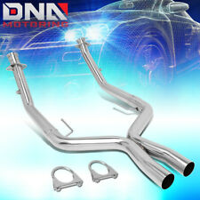 "FOR 2005-2010 FORD MUSTANG 4.6L V8 OFF ROAD 2.5""HIGH FLOW CATBACK EXHAUST X-PIPE"