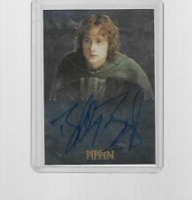 2004 TOPPS CHROME LORD OF THE RINGS BILLY BOYD AS PIPPIN AUTOGRAPH