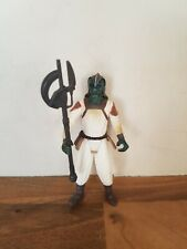Star Wars Klaatu Jabbas Skiff Guard  Figure POTF 1999 Power of the Force