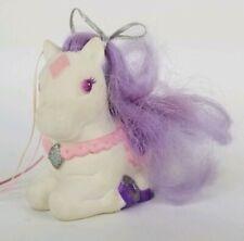 Vintage Tonka Diamond Pony white purple Keypers Baby Glitter
