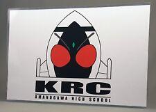 "Kamen Rider Fourze Club Poster w/ Top Loader 17"" Art Print Masked KRC"