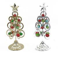 Mini Table Metal Christmas Tree Decoration Decor Home Xmas Gift Party Supplies