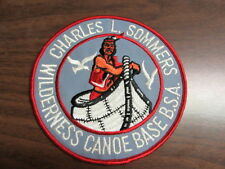 Charles L. Sommers Wilderness Canoe Base Twill Jacket Patch    c45