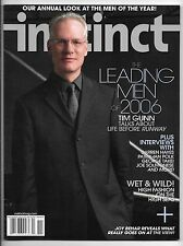 November 2006 Instinct Magazine-Tim Gunn cover!