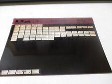 Kawasaki KX125 - B Series Parts List Micro Fiche