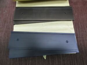 """Name Plate Holders Wall Bracket mixed  lot of 6 JRS36-8  2"""" x 8"""" x 1/16"""""""