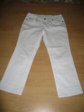 Esprit, Damen 7/8- Jeans, weiß, Größe 40
