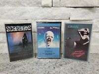 Lot of 3 80's Heavy Metal Rock Band Cassette Tapes Scorpions