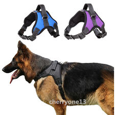 Large Extra Big Medium Dog Harness Soft Vest Pet Collar Walk Out Hand Strap