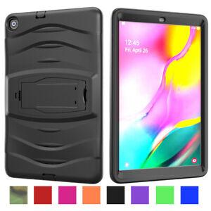 For Samsung Galaxy Tab A 8 10.1 2019 8.4 2020 Tough Silicone Hyrbid Stand Cover