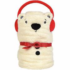Department 56 Snowpinions Polar Bear Snow Throw Blanket