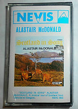 ALASTAIR McDONALD SCOTLAND IN SONG / CASSETTE (MC / TAPE)