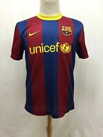 #9 Johnston FCB Football Club Barcelona Authentic Nike Soccer Jersey Size Medium