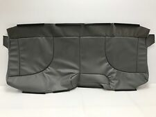 International W4300 Bench Seat Front (Bottom) Vinyl Replacement Seat Cover- Gray