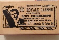 Pharmacist Foreign Pharmacy Man Suit Rubber Stamp Stampington & Co. C8208