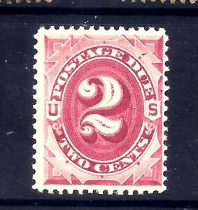 US Stamps - #J23 - MNH - 2 cent 1891 Postage Due Issue - CV $90