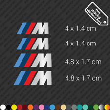 for BMW M Series Brake Caliper Restoration Sticker Decal Kit High Temp Set of 4
