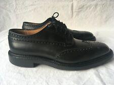 Church´s Grafton Budapester Derby Brogues Shoes UK 9 EU ca EU 43 Schuhe Schwarz