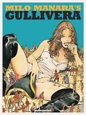 MILO MANARA'S: GULLIVERA HARDCOVER Manara Erotica Comics HC