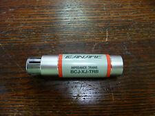 Canare   BCJ-XJ-TRB 110ohm to 75ohm digital audio impedence transformer
