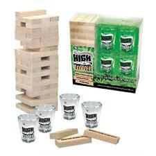 "Stonerware ""HIGH TOWER GAME"" Stack'em High & Get Smoked! Janga Wooden Block Shot"