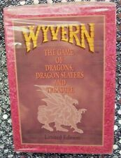 WYVERN CCG STARTER DECK LIMITED EDITION (1994) 60 CARD DECK WITH RULES ~ SEALED!