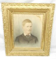 ANTIQUE / VINTAGE 3 TIERED PICTURE FRAME