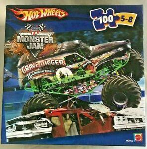 Hot Wheels Monster Jam 2007 Puzzle