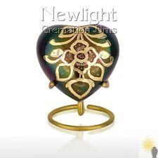 Bouquet (3inch Heart), Keepsake Urns, Heart Keepsakes, Mini Urns