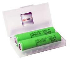 2er Set Samsung 8650-25R 2er Box Li-Ion  Smok Aline Kanger Vapo Akkubox Cellsafe