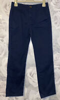 Boys Age 9-10 Years - M&S Navy Chino Trousers