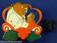 Beauty and the Beast Belle Rose 1991 History of Art LE-1500 Pin # 20901