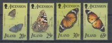 Ascension 669 - 72 Butterflies (MNH)
