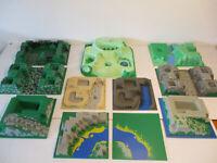 ( Hk ) 3D Lego Plaques 32x32 au Choix