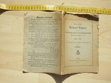 1903. Röckl: Was erzählt Richard Wagner über Entstehung des Nibelungengedichtes