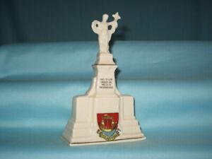 Arcadian China WW1 Folkestone War Memorial - FOLKESTONE Crest