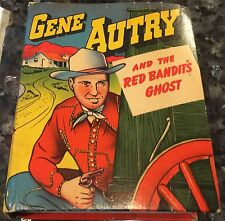 Gene Autry Red Bandit's Ghost Better Little Book, #1461