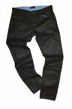 Diesel Black Gold Excess-NP-FS Black Coated Jeans W32 100% Authentique