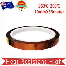 New listing Heat Resistant High Temperature Tape Kapton Polyimide for soldering10mmX33m
