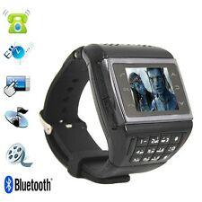"ET-1 AVATAR Watch Phone Quad bands Unlocked 1.4"" Touch Screen MP3 Cell Phone"