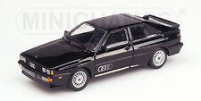 Audi Quattro 1981 Black 430019421 1/43 Minichamps