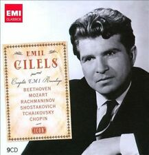 Icon: Emil Gilels - Complete EMI Recordings (CD, Aug-2010, 9 Discs, EMI...