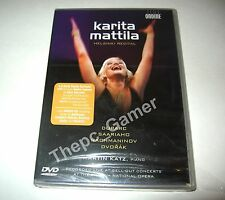 Karita Mattila Helsinki Recital NEW SEALED DVD Z