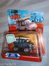 Disney Cars Deluxe Mega Size #23 LEROY TRAFFIK with SNOW TIRES