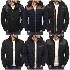 Men's Polyester Hooded Fleece Coats & Jackets