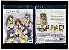 Clannad: Complete Anime Collection (Brand New 3-Disc Blu-ray Set)