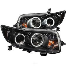 Headlight Assembly-Projector with halo Clear Lens Black Anzo 121280